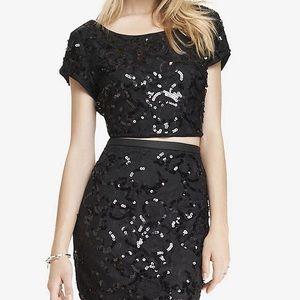 Express Sequin 2 Piece Skirt and Top